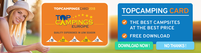 Top campings card
