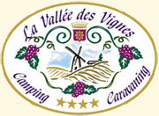 Logo Camping La Vallée des Vignes